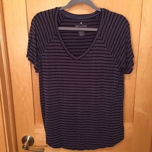 AEO Stripped Soft & Sexy T-Shirt
